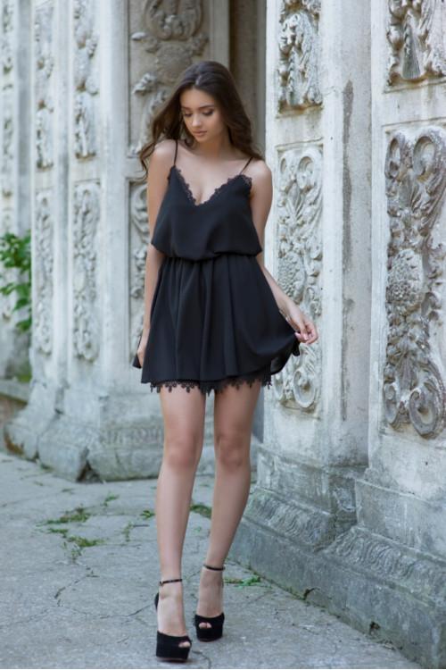 Платье 3418 черный